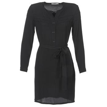 material Women Short Dresses See U Soon SANTINE Black