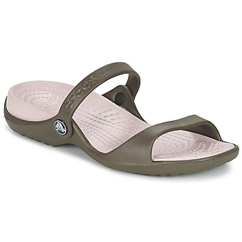 Shoes Women Sandals Crocs Cleo Chocolate / Cotton / Candy