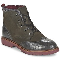 Shoes Women Mid boots Tamaris SOROLA Green