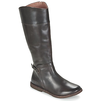 Shoes Women Boots Kickers CRICK Brown / Dark