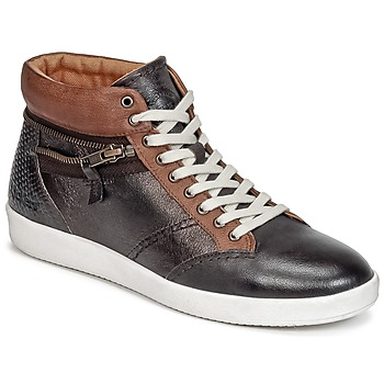 Shoes Women High top trainers Kickers HAPPYZIP Brown / Dark / METAL