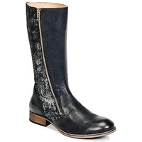 Shoes Women Boots Kickers PENNYHO Black / Brillant