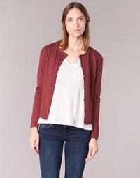 material Women Jackets / Cardigans BOTD EVANITOA Bordeaux