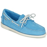 Shoes Men Loafers Sebago DOCKSIDES Blue