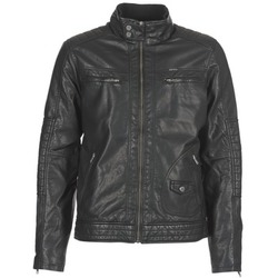 material Men Leather jackets / Imitation leather Petrol Industries VESTE JAC150 Black