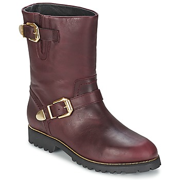 Shoes Women Mid boots SuperTrash MARYLIN BORDEAUX