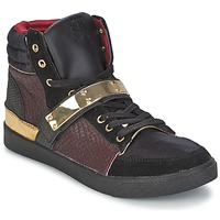 Shoes Women High top trainers SuperTrash GOLDY BORDEAUX