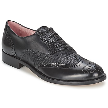 Shoes Women Brogue shoes Elia B SPECTATOR  black