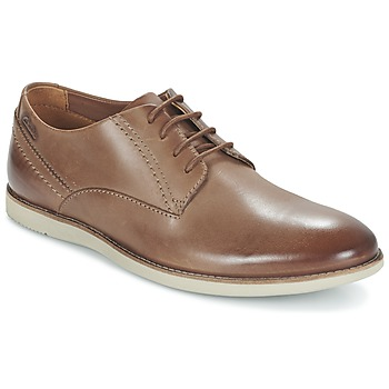 Shoes Men Derby shoes Clarks FRANSON PLAIN Brown