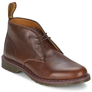 Shoes Men Mid boots Dr Martens SAWYER Brown