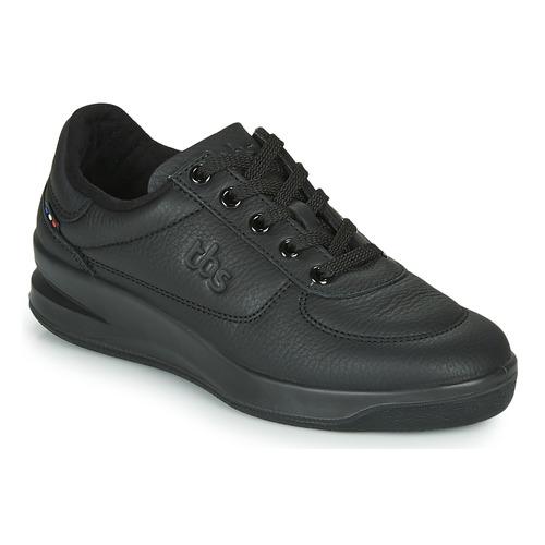 Shoes Women Low top trainers TBS BRANDY Black