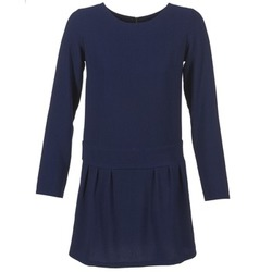 material Women Short Dresses Betty London FABIAME Marine
