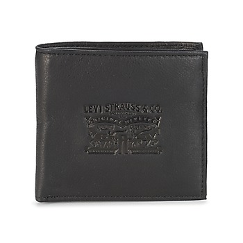 Bags Men Wallets Levi's VINTAGE TWO HORSES Black