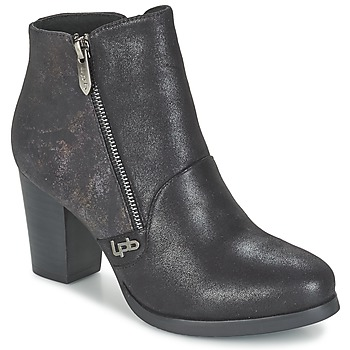 Shoes Women Ankle boots Les P'tites Bombes BALTIMORE Black