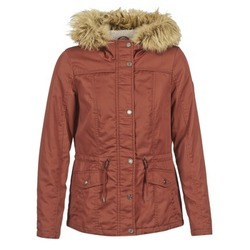 material Women Parkas Only KATE BORDEAUX