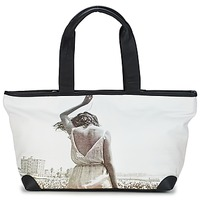 Bags Women Shopper bags Kothai MICRO GIRL Black / Grey