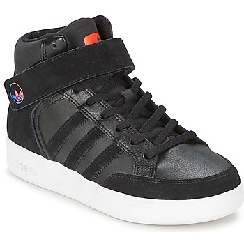 Shoes Children High top trainers adidas Originals VARIAL MID J Black / Red / Blue