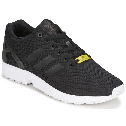 b6a0a66ace0 adidas Originals ZX FLUX Black / White - Fast delivery | Spartoo ...