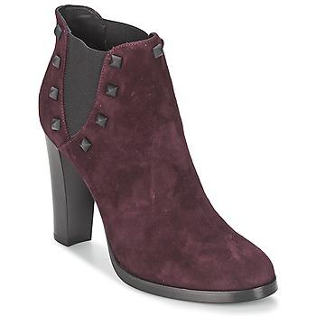 Ankle boots / Boots Alberto Gozzi CAMOSCIO NEIVE BORDEAUX 350x350