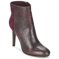 Shoes Women Ankle boots Alberto Gozzi GRINGO MANDORLA BORDEAUX