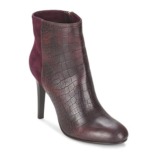 Ankle boots / Boots Alberto Gozzi GRINGO MANDORLA BORDEAUX 350x350