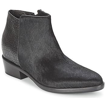 Ankle boots / Boots Alberto Gozzi PONY NERO Black 350x350