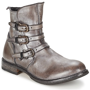 Shoes Women Mid boots Moma CUSNARGE Silver