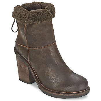 Shoes Women Ankle boots OXS MUCELAGO Brown