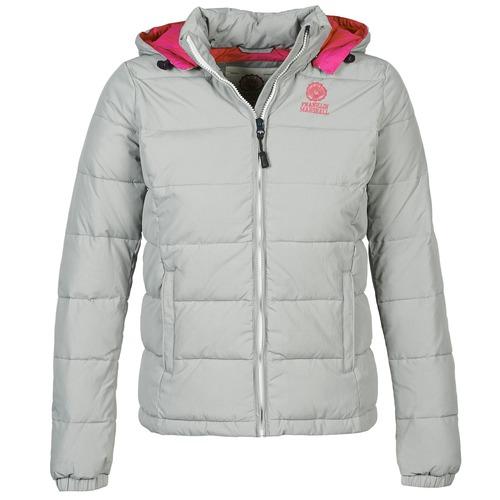 material Women Duffel coats Franklin & Marshall JKWCA506 Grey