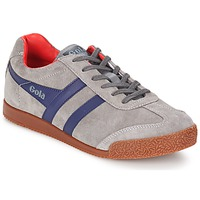Shoes Men Low top trainers Gola HARRIER Grey / MARINE / Red