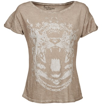 material Women short-sleeved t-shirts Best Mountain ACCADUR TAUPE