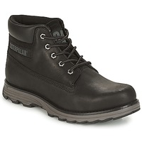 Shoes Men Mid boots Caterpillar FOUNDER Black