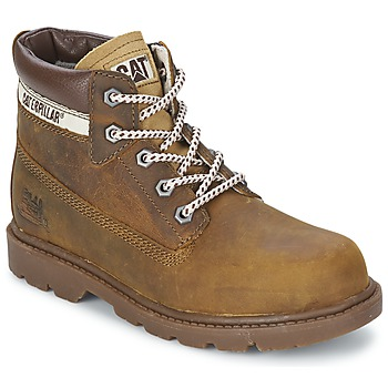 Shoes Children Mid boots Caterpillar COLORADO PLUS Beige