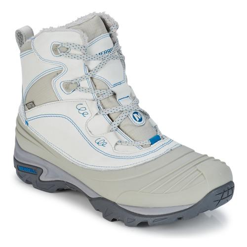 Hiking-shoes Merrell SNOWBOUND MID WTPF Grey 350x350