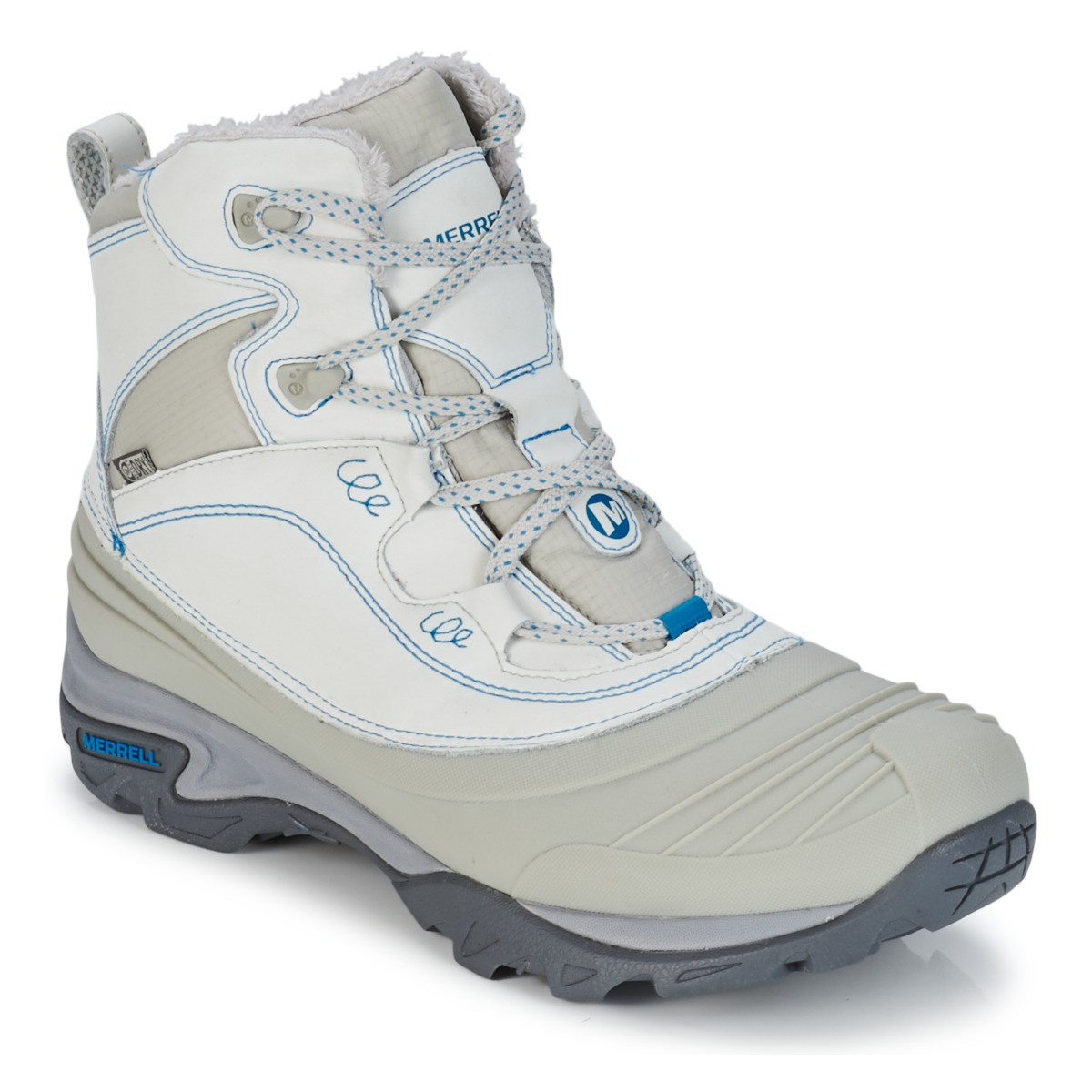 Hiking-shoes Merrell SNOWBOUND MID WTPF Ice