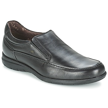 Shoes Men Loafers Fluchos LUCA Black