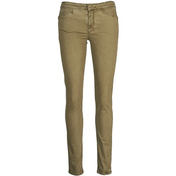 material Women slim jeans Acquaverde JOE Bronze