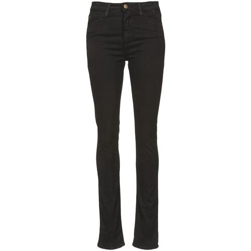 material Women slim jeans Acquaverde TWIGGY Black