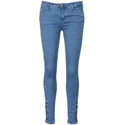 material Women slim jeans Acquaverde ALFIE Blue / Clear