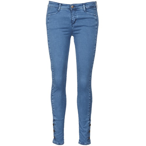 material Women slim jeans Acquaverde ALFIE Blue / Clear