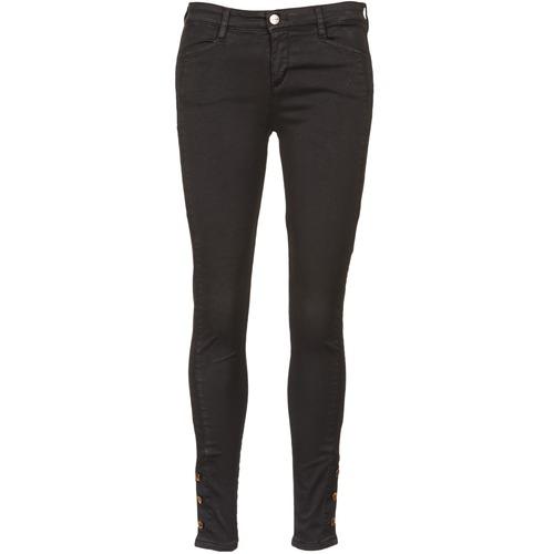 material Women slim jeans Acquaverde ALFIE Black