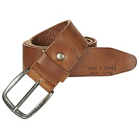 Accessorie Men Belts Jack & Jones PAUL Cognac