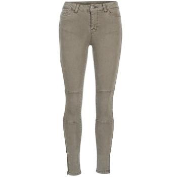 material Women slim jeans Vero Moda SEVEN TAUPE