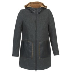 material Women coats Vero Moda EMPIRE Grey