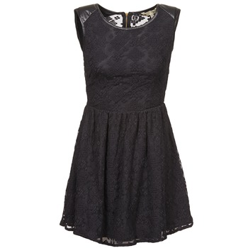 material Women Short Dresses Yumi KIMI Black