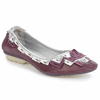 Shoes Women Ballerinas Pataugas TURNER Violet