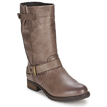 Shoes Women Boots Gioseppo FREIRE Taupe