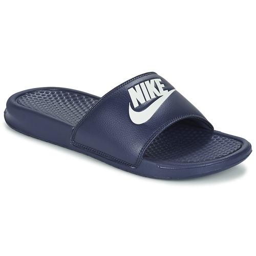Shoes Men Tap-dancing Nike BENASSI JDI Blue / White