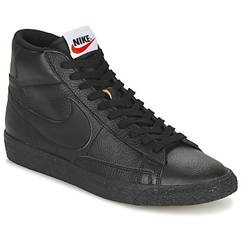 Shoes Men High top trainers Nike BLAZER MID Black