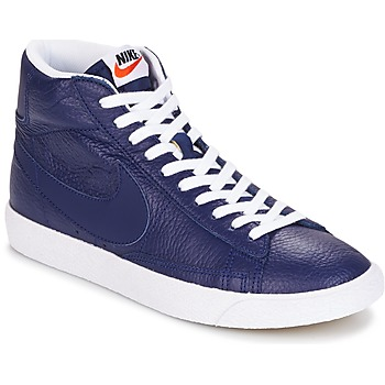 Shoes Men High top trainers Nike BLAZER MID Blue
